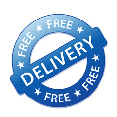 """FREE DELIVERY"" Marketing Stamp (service home express shipping)"