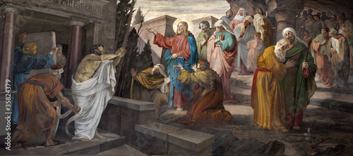 Milan - resurrection of Lazarus from San Giorgio church - 35824379