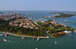 Italy, Venice, aerial view of the city