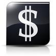 Symbole glossy vectoriel Dollar