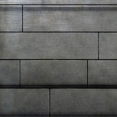 photoshop painted texture of a metal wall