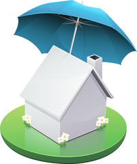 Maison et assurance habitation (détouré)