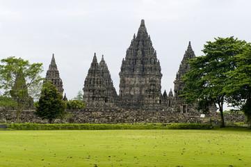 Prambanan temple.