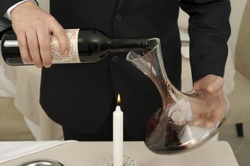 Décanter un vin