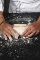Façonner la pâte farinée