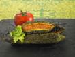 Concombres amers farcis à la tomate