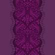 violet paisley pattern