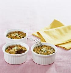 mousse parmentière de boudin aux noix