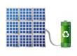 solar energy concept illustration design