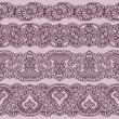 four standards of lace ribbon seamless pattern