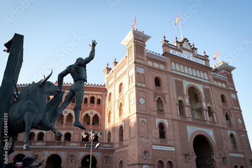 Foto Spatwand Madrid Bullfight, Madrid