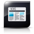 Symbole glossy vectoriel journal news