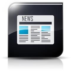 Symbole glossy vectoriel journal news