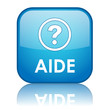 "Bouton Web ""AIDE"" (service clients support assistance questions)"