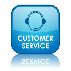 """CUSTOMER SERVICE"" Web Button (contact us tech support hotline)"