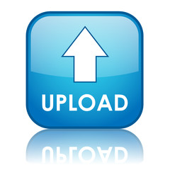 """UPLOAD"" Web Button (arrow save free internet download transfer)"