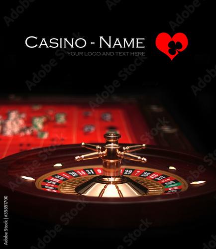 Roulette - Casino - Gambling - Poster