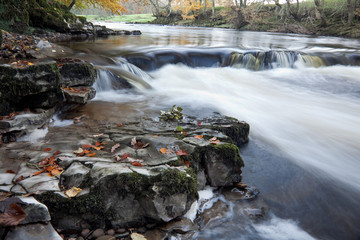 River Hodder near Stonyhurst, Clitheroe, Lancashire