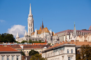 the budapest matthias church, hungary