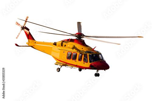 Aluminium Helicopter AB-139 fondo bianco