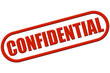 Stempel rot rel CONFIDENTIAL