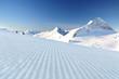 fresh ski track at Hintertux