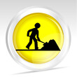 icône jaune travaux