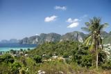 thailand beach exotic holidays tropical tourism asia sea landsca poster