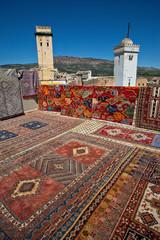 Moroccan carpets, Fes, Morocco (1).
