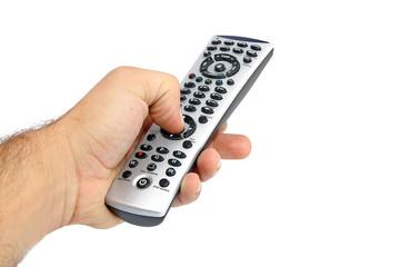 Main et télécommande