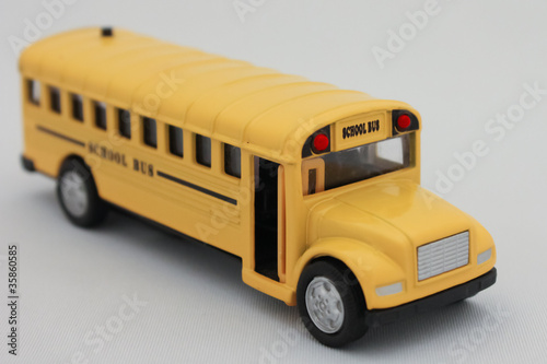Traditional School bus.