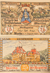 Notgeld-Inflation 1921