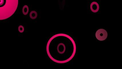 Falling Circle Pink