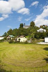 Small Village At Mondsee,Austria