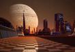 Futuristic City On An Alien Planet Part 1
