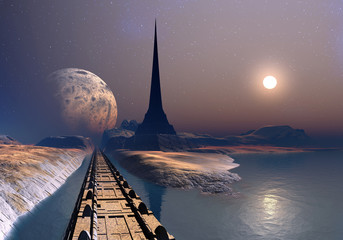 The Tower of Gresor - Alien Planet