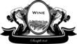 Vineyard woman and vine