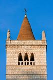 Il campanile del duomo di Gemona del Friuli poster