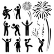 Party Celebration Event Festival People Icon Sign