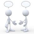 3d human Conversation