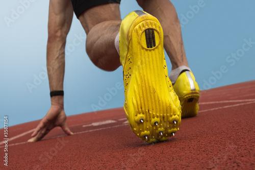 Sprinter start position