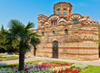 old building a church in Bulgaria Nessebar