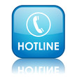 """HOTLINE"" Web Button (information support customer service help)"