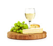 white wine cheese board