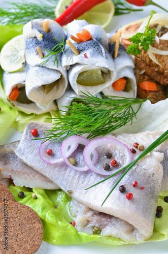 Kalte Fischplatte