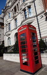cabine téléphonique, Londres