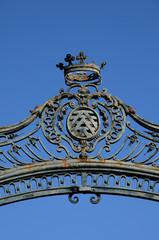 grille du château de La Roche Guyon
