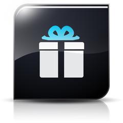 Symbole glossy vectoriel cadeau
