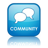 COMMUNITY Web Button (forum share users social networking like)