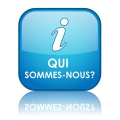 """Bouton Web """"QUI SOMMES-NOUS ?"""" (informations à propos contact)"""